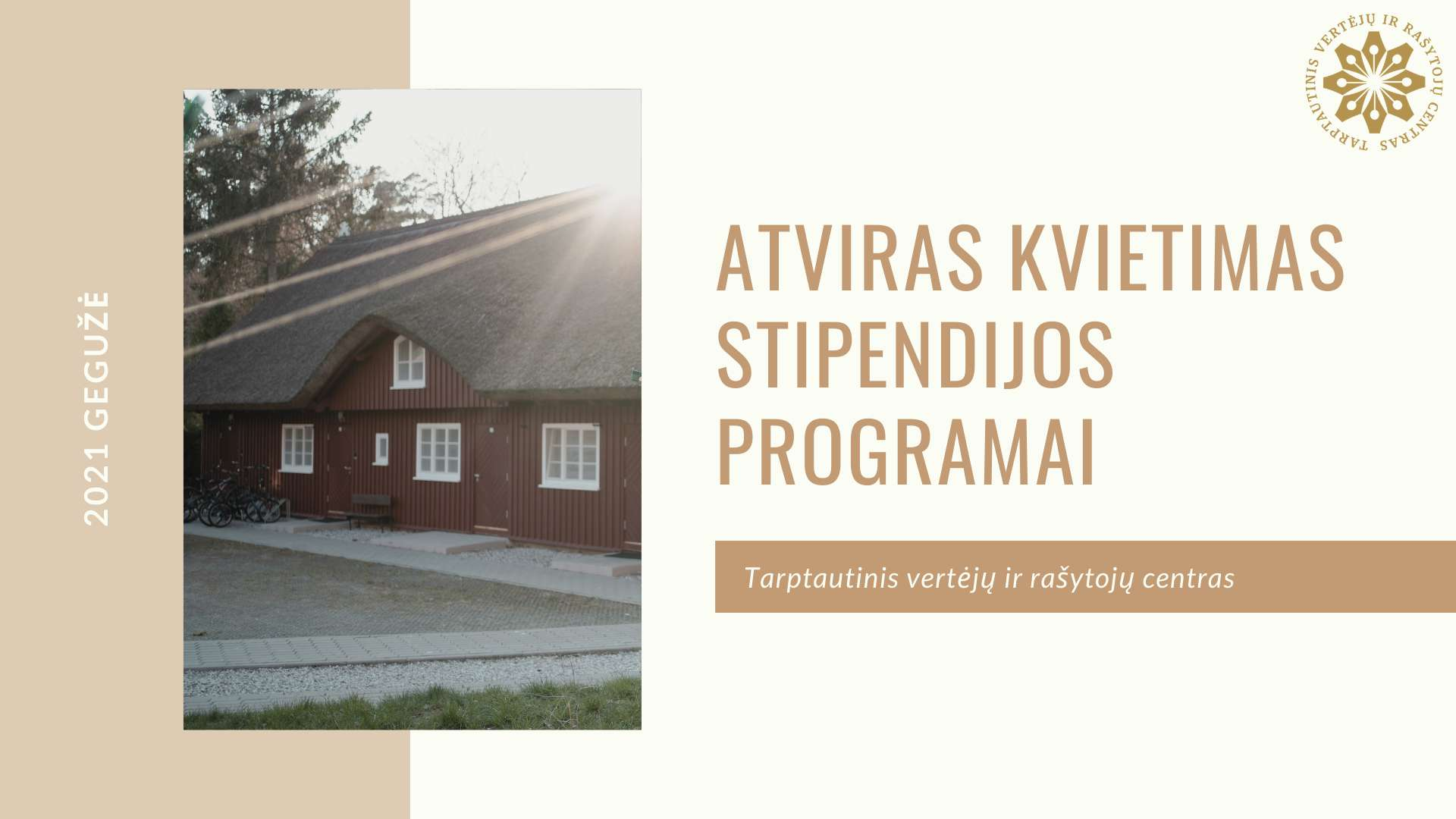 Atviras kvietimas stipendijos programai
