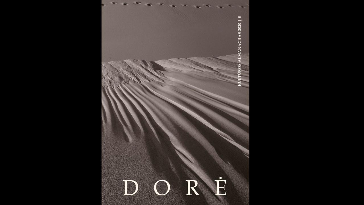 "8-ojo Kultūros almanacho 2020 m. ""Dorė"" viršelis"