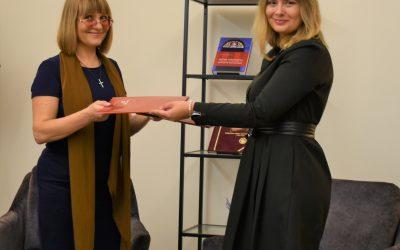 Pasirašyta bendradarbiavimo sutartis su Lietuvos literatūros vertėjų sąjunga